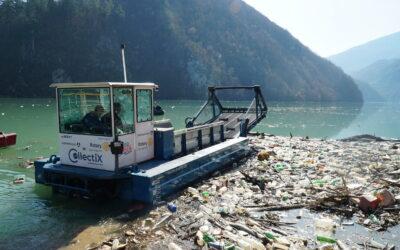 CollectiX boat in Bosnia Herzegovina