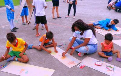 Schoolproject in Mompiche Ecuador