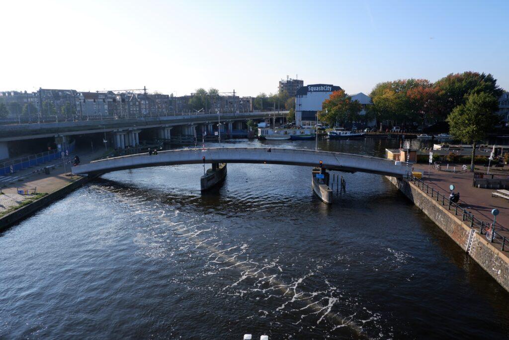 Bubble Barrier in Amsterdam