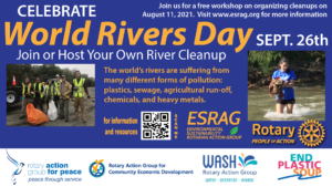 World Rivers Day September 26th
